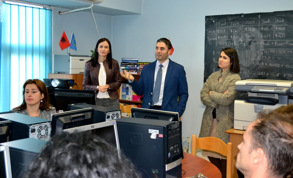 COORP Networking Day at the Economy Faculty in Shkodra
