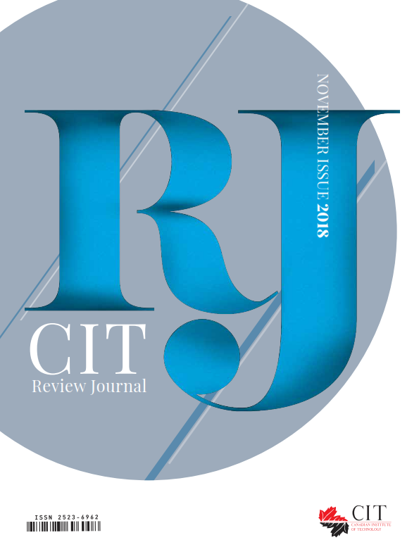 CIT Review Journal – November Issue 2018