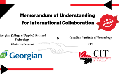 Memorandum of Understanding between Georgian College of Applied Arts and Technology in Ontario/Canada and Canadian Institute of Technology (CIT)
